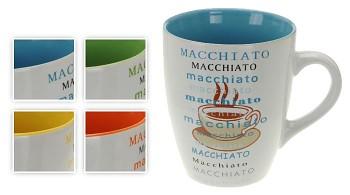 """Hrnek na kávu 300 ml """"MACCHIATO"""", 4 designy"""