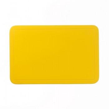 Prostírání UNI žluté, PVC 43,5x28,5 cm