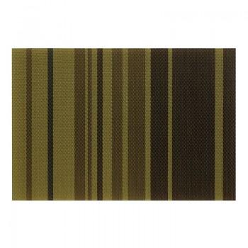 Prostírání NETA, PVC, zelené proužky 45x30cm