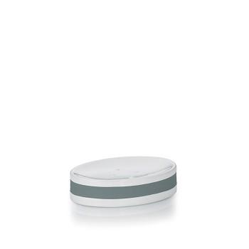 Miska na mýdlo LALETTA keramika šedá