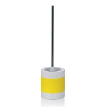 WC sada LALETTA keramika guma nerez 18/10 žlutá