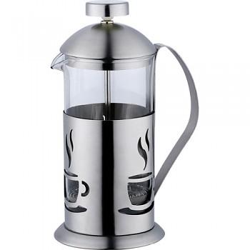 Konvička na čaj a kávu nerez French Press 350 ml