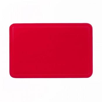 Prostírání UNI červené, PVC 43,5x28,5 cm