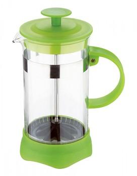 Konvička na čaj a kávu French Press 600 ml zelená