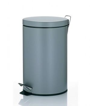 Koš odpadkový 12 l LEANDRO, šedá