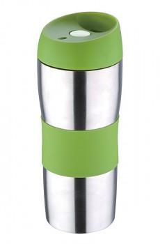 Termohrnek cestovní 450 ml, zelený