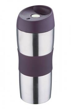 Termohrnek cestovní 450 ml, fialový