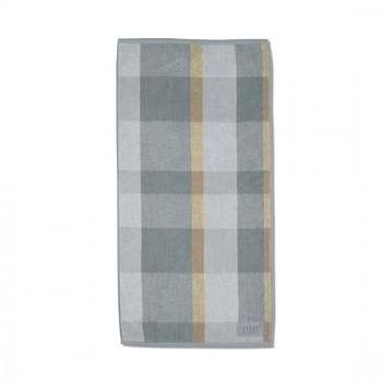 Ručník LADESSA 50x100 cm, šedý/béžový