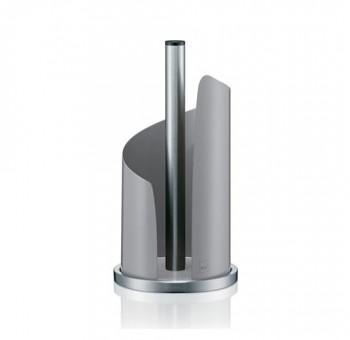 Držák na papírové utěrky STELLA kovový, šedý