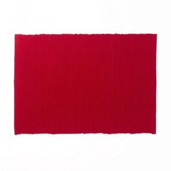 Prostírání PUR 48 x 33 cm, červené
