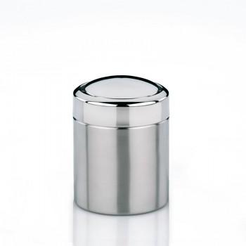 Kosmetický koš ANO 1,5L nerez stříbrný
