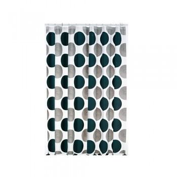 Sprchový závěs LAMARA, 30%EVA, 70%PE, 180x200cm, šedý