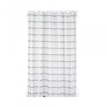 Sprchový závěs LANETA, 100%PES, 180x200cm, béžový