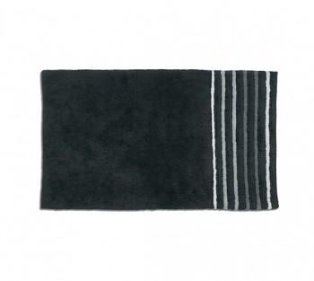 Koupelnová předložka LADESSA STRIPES 100x60 cm černá