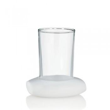 Pohár MARIN umělý kámen / sklo