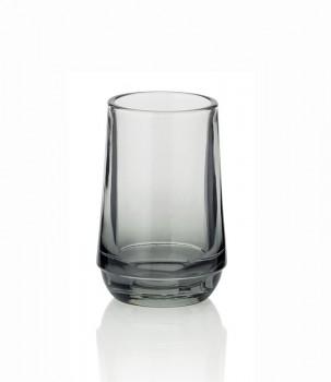 Pohár SEVEDA sklo šedý