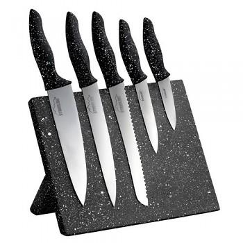 Sada nožů s magnetickým blokem 6 ks