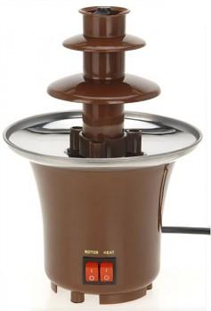 Čokoládová fontána, 15x22 cm, hnědá