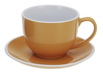 Hrnek na cappuccino 220 ml, oranžový