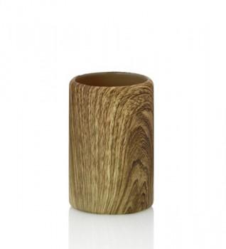 Pohár KAMBIUM keramika, design dřevo