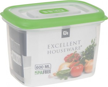Dóza na potraviny plastová 0,6 l
