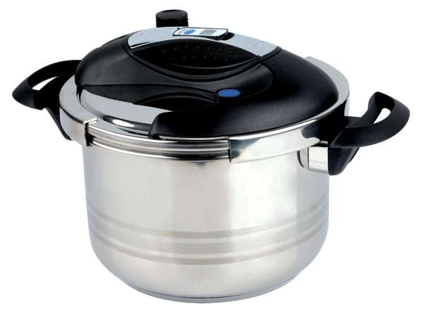 770efc9bf Tlakový hrnec s časovačem 6 L nerez kuchyňské potřeby, nádobí, hrnce ...