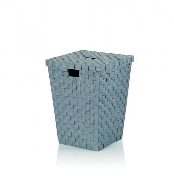 Prádelní koš Alvaro šedý, 40x40x52cm