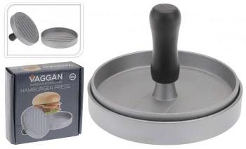 Forma na hamburger stříbrná