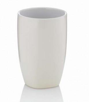 Pohár LANDORA keramika krémová