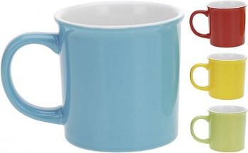 Hrnek porcelán 340 ml 4 barvy