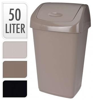 Koš odpadkový 50 l, 3 barvy
