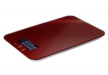 Váha kuchyňská digitální 5 kg Burgundy Metallic Line