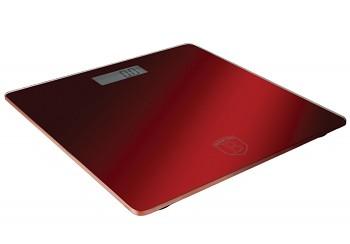Váha osobní digitální 150 kg Burgundy Metallic Line