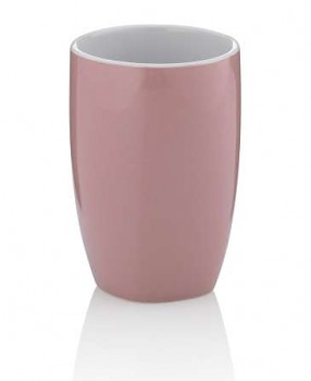Pohár LINDANO keramika růžová