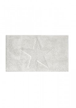 Koupelnová předložka LINDANO 60x100 cm bílá