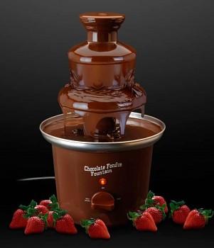 Čokoládová fontána hnědá 32 cm
