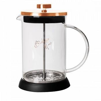 Konvička na čaj a kávu French Press 800 ml Rosegold collection