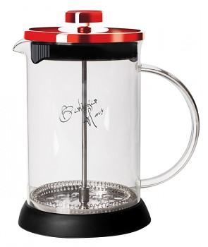 Konvička na čaj a kávu French Press 350 ml  Burgundy Metallic Line