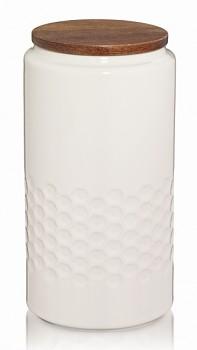 Dóza MELIS keramika 1.3l krémová