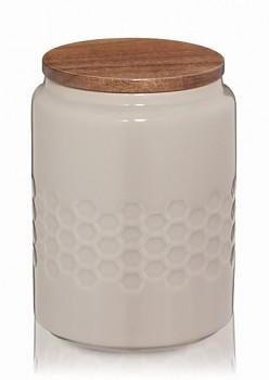 Dóza MELIS keramika 0.8l šedá