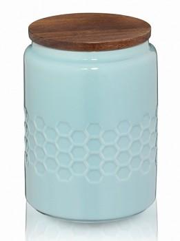 Dóza MELIS keramika 0.8l pastelově modrá