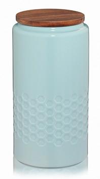 Dóza MELIS keramika 1.3l pastelově modrá