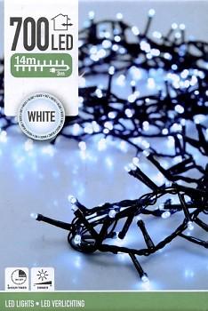 Vánoční světelný řetěz 700LED 14 m bílá