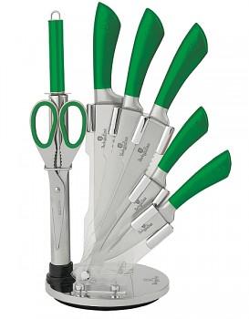 Sada nožů ve stojanu 8 ks nerez Infinity Line zelená