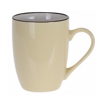 Hrnek keramika 340 ml žlutá