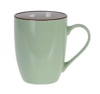 Hrnek keramika 340 ml zelená
