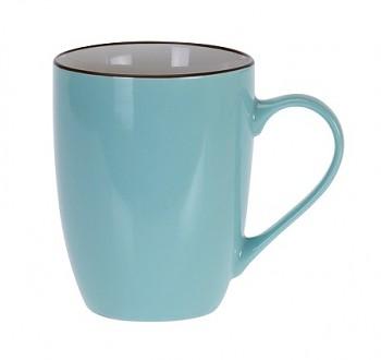 Hrnek keramika 340 ml modrá