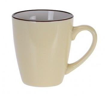 Hrnek keramika 225 ml žlutá