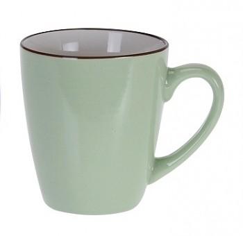 Hrnek keramika 225 ml zelená
