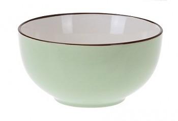 Miska keramika 13x7cm zelená
